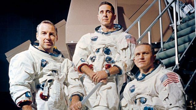 trojica astronauta Apola 8