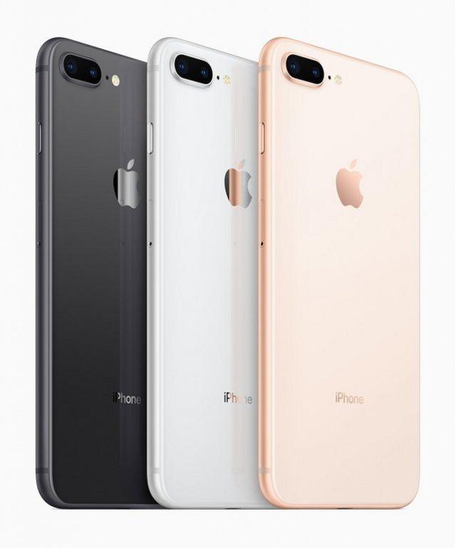 iPhone 8 представили в трех новых цветах