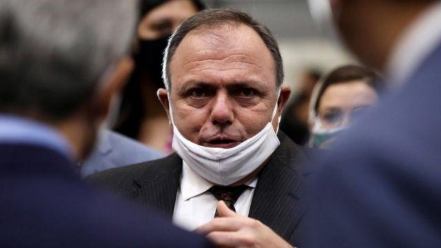 Ex-ministro da Saúde, general Eduardo Pazuello