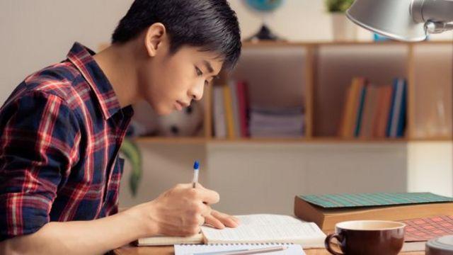 Estudiante en Singapur