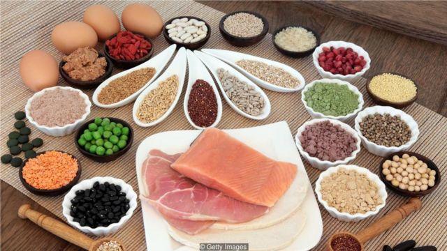 大多数人通过食物摄入的蛋白含量已高过每日所需。 (Credit: Getty Images)