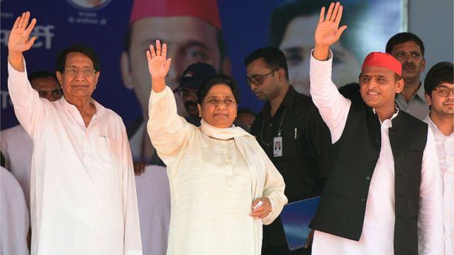 అజిత్ సింగ్, మాయావతి, అఖిలేశ్