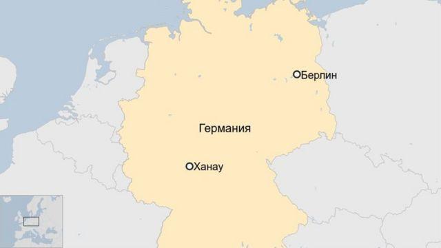 Германия карта