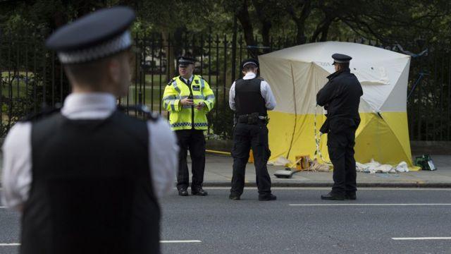 Нападение в центре Лондона