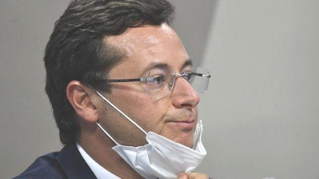 Fábio Wajngarten na CPI