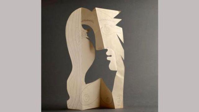 Obra Cabeça de Mulher (1962), de Picasso