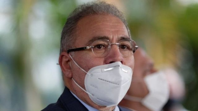 The new Brazilian Minister of Health.