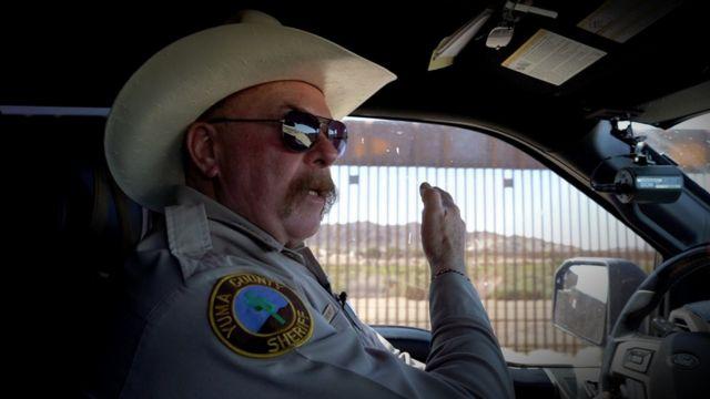 El alguacil del condado de Yuma, Leon Wilmot.