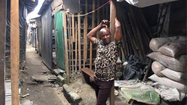 Rumfunan masu sayar da shinkafa da suka rufe a Fatakwal, Najeriya