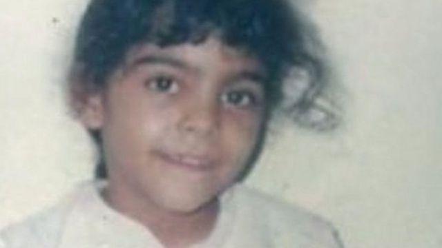 Pendukung Israa al-Ghomgham menyebarkan fotonya saat anak-anak.