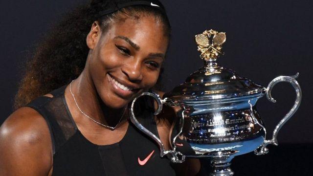 Serena Williams amaze gutsindira ibikombe vyinshi