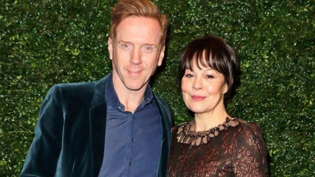 هلن مک کروری در کنار همسرش
