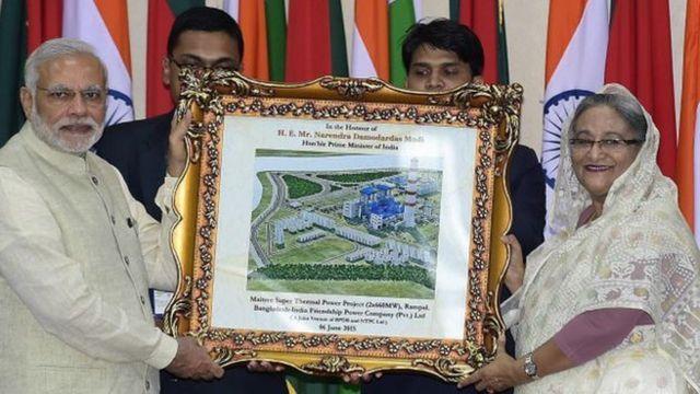 রামপাল প্রকল্পের উদ্বোধনে দুই দেশের প্রধানমন্ত্রীরা