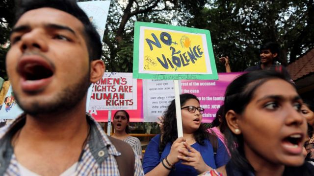 protestas en India