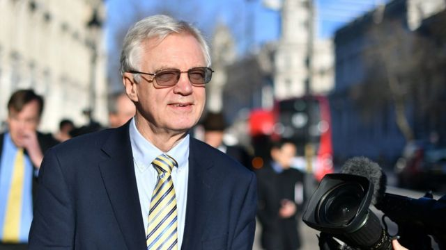 David Davis to earn £60,000 for 20 hours work at JCB
