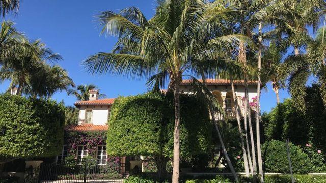 Una casa en Palm Beach, Florida