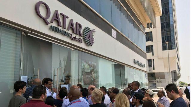 Krisis Qatar Bagaimana Nasib Calon Penumpang Pesawat Bbc News Indonesia