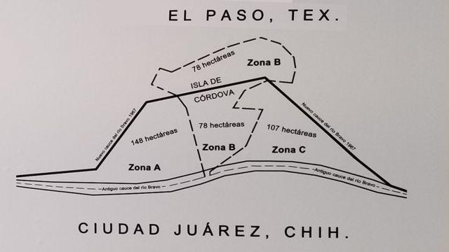 Mapa explicativo de la división