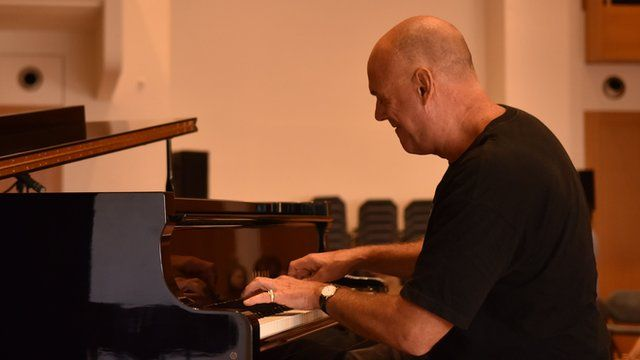 Jazz pianist Al Blatter