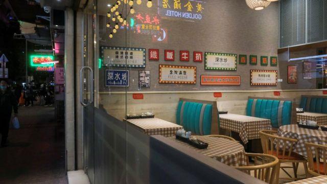 受疫情影響,許多香港餐廳生意大跌,商會更預期會有倒閉潮。