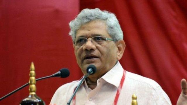 இந்திய கம்யூனிஸ்ட் கட்சியின் (மார்க்ஸ்சிட்) பொதுச் செயலாளர் சீதாராம் யெச்சூரி