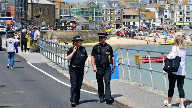 英国当局派驻约6500名警员负责峰会的保安工作。