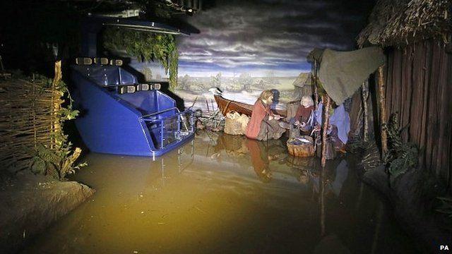 Jorvik tourist attraction in York