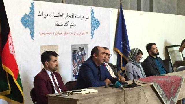 دفتر مطالعات استراتژیک افغانستان در هرات میزبان این نشست خبری بود
