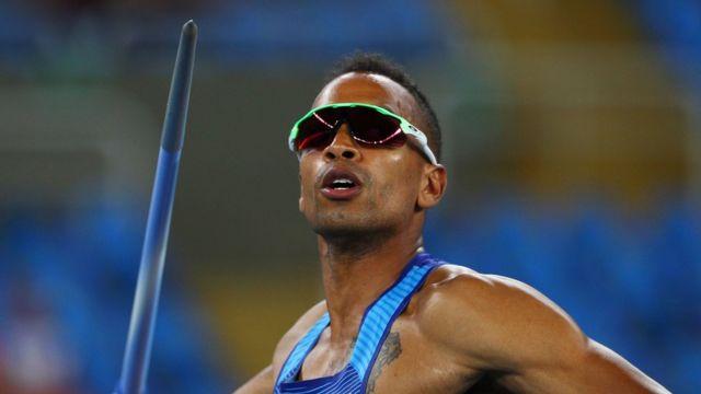 Jeremy Taiwo pediu dinheiro on-line para participar dos Jogos do Rio.