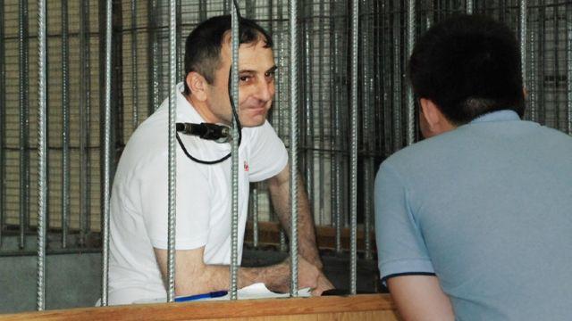 Тимур Хамхоев в ходе оглашения приговора старался держаться уверенно