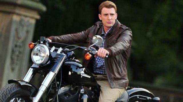 Chris Evans wey be Captain America