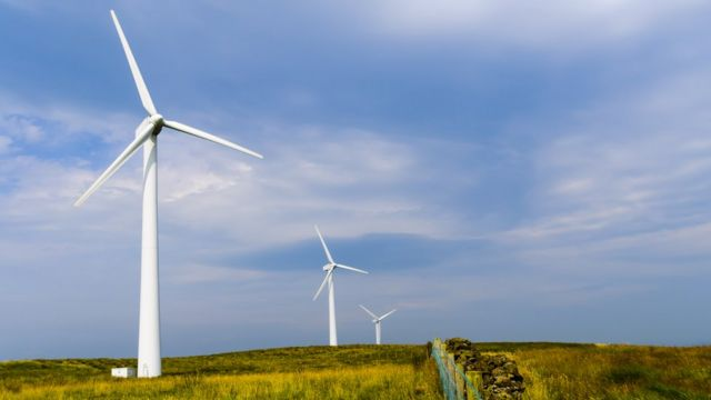 Scottish wind power output at record high