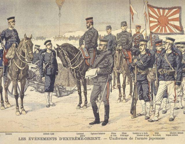 Soldados japoneses no Massacre de Nanquim