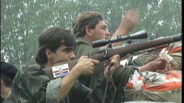 Хорватські військові у вересні 1991 року