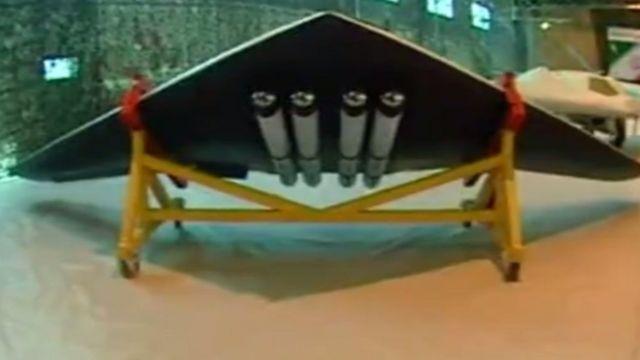 سپاه پاسداران انقلاب اسلامی ا یک پرنده هدایت پذیر از دور (پهپاد) یا هواپیمای بدون سرنشین رونمایی کرده است که میگوید قابلیت پرتاپ موشک هوشمند دارد.این پهپاد امروز ۱۰ مهرماه (اول اکتبر) در نمایشگاه توانمندیهای نیروی هوافضای سپاه رونمایی شده است.