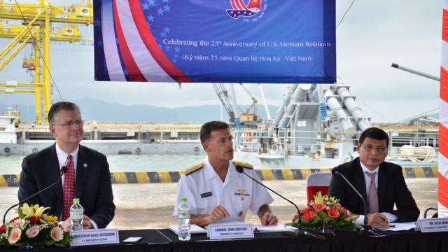 Việt Nam muốn chuyến thăm của Hàng không mẫu hạm Mỹ giữ ở mức ít chú ý