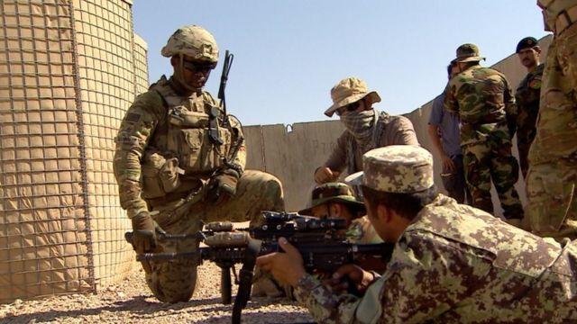 جنود أمريكيون في أفغانسان. صورة أرشيفية