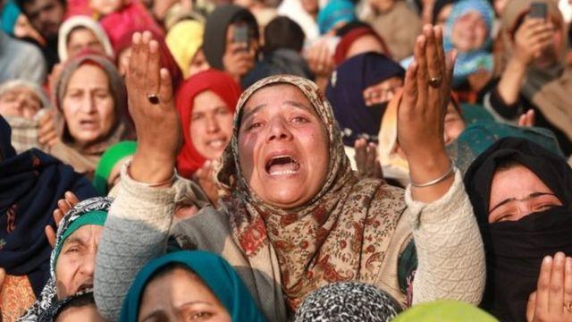 कश्मीर के लिए कैसा कहा साल 2018