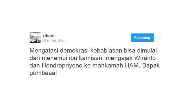 Twitter Arman Dhani