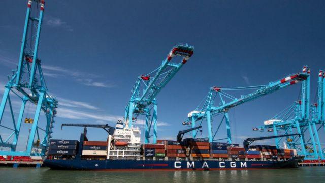Ampliación del canal de Panamá.
