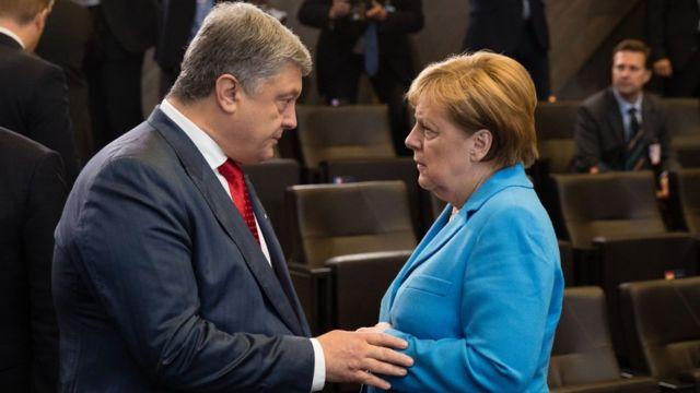 Меркель Порошенко