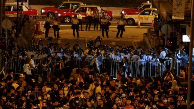 Hong Kong, protest, Cina