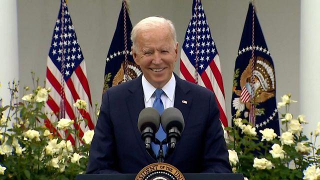 الرئيس الأميريكي جو بايدن