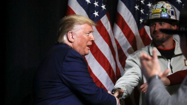 Трамп на слете нефтяников в Питтсбурге