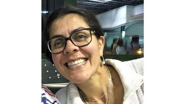 Enfermeira brasileira Claudia de Morais