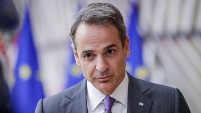 Yunanistan Başbakanı KiryakosMiçotakis