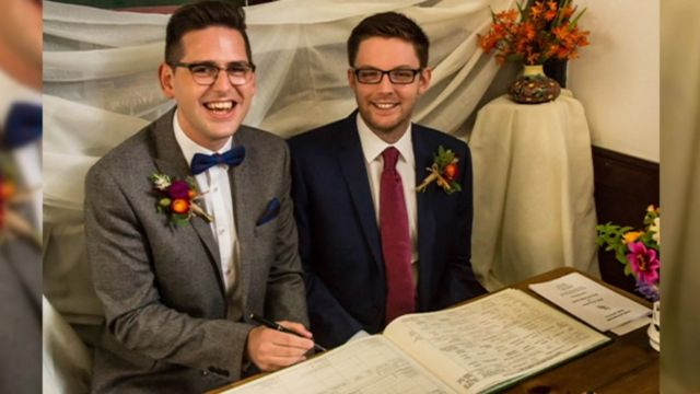 Same-sex couples' church weddings 'reluctance'