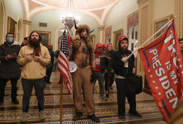 Protesta en el Capitolio