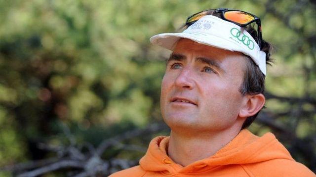 Альпинист Ули Штек