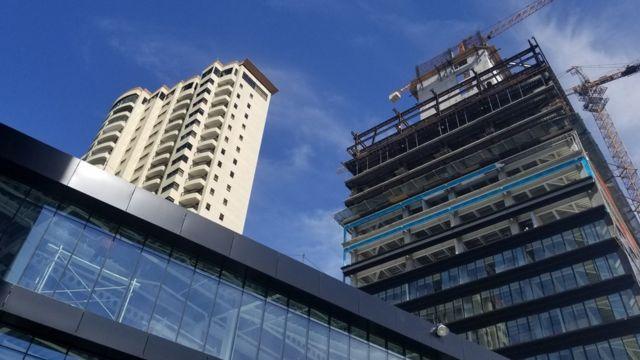 La construcción de NewCity Medical Plaza
